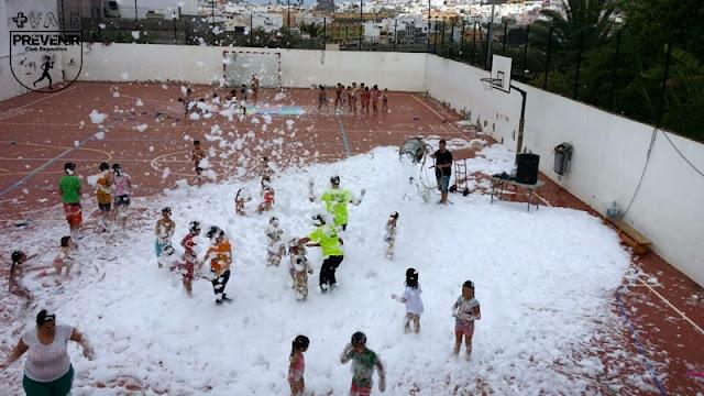 juegos agua arucas niños