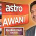 Kerajaan Sarawak Guna Saluran Astro Awani 501 Sebar Maklumat Mengenai Sarawak