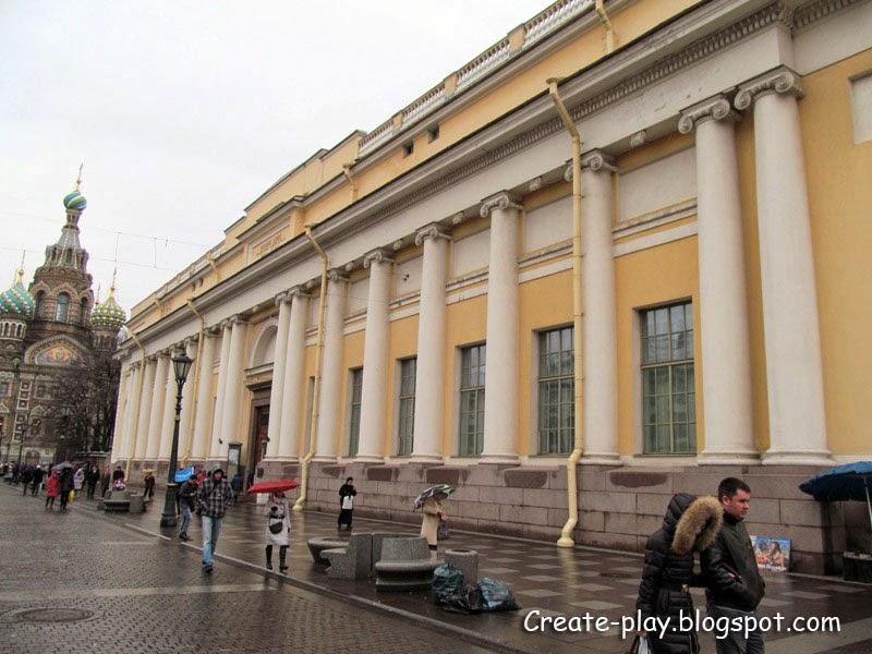 Русский музей. Корпус Бенуа