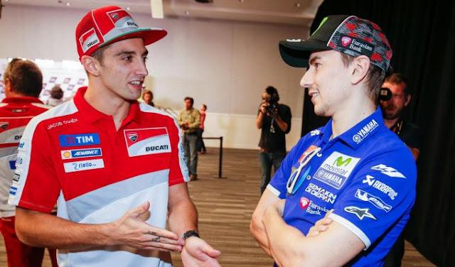 berita motogp Lorenzo memuji Iannone dan motor Suzukinya