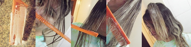 Clarear as pontas do cabelo