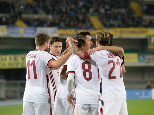 Milan Petik Kemenangan 4-1 dari Lawatan ke Markas Chievo