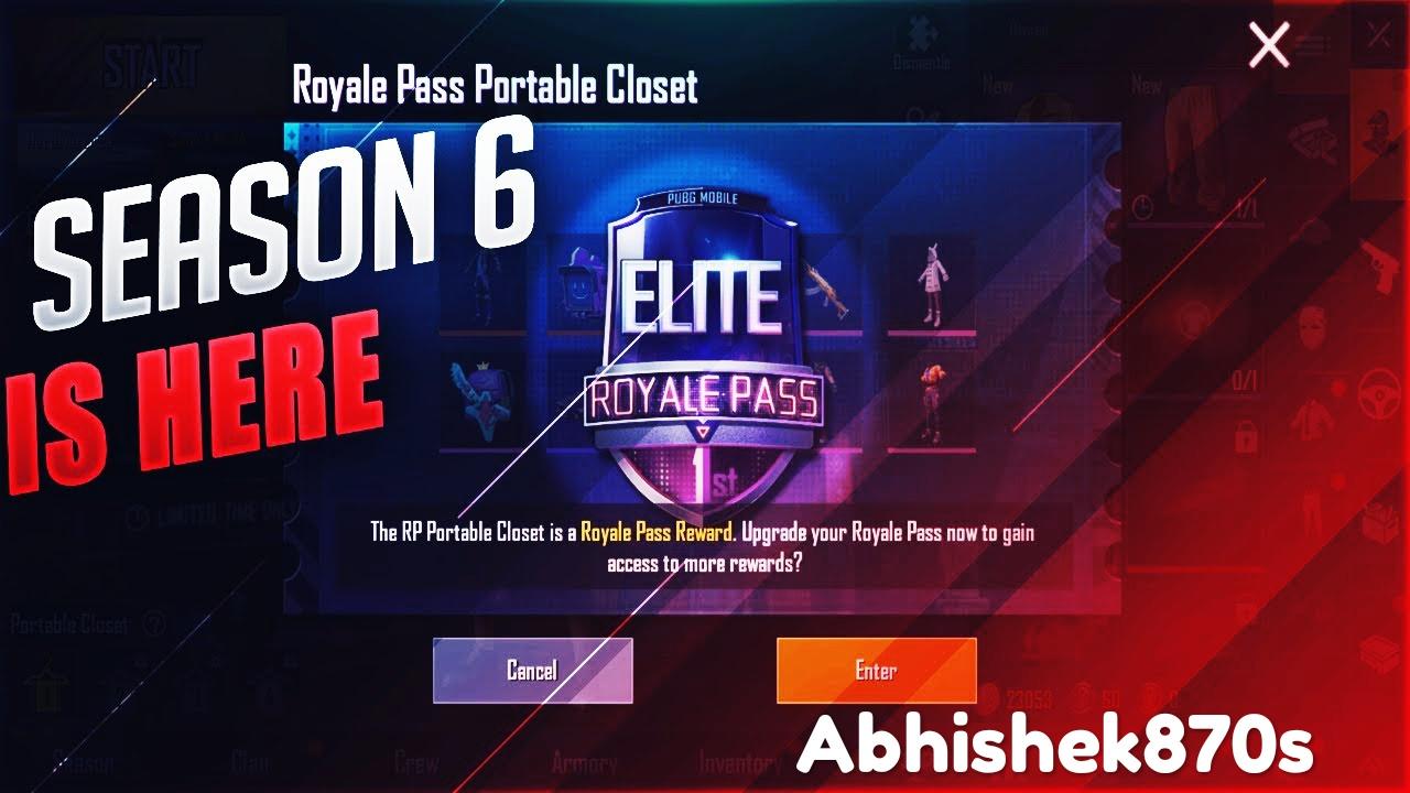 Pubg Mobile season 6 Abhishek jaiswal founder of reviewfame