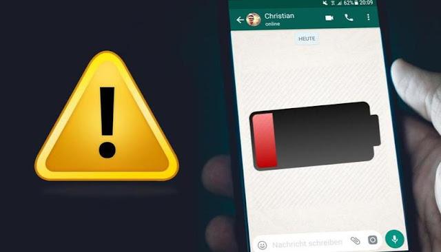 WhatsApp Telefonunuzun Pilini Çabuk mu Bitiriyor?Bu Sebep Olabilir