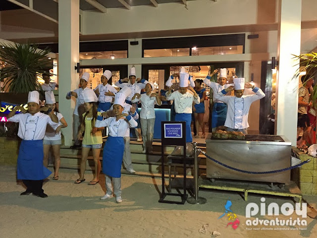 Dancing Chefs at Sea Breeze Cafe Boracay Regency