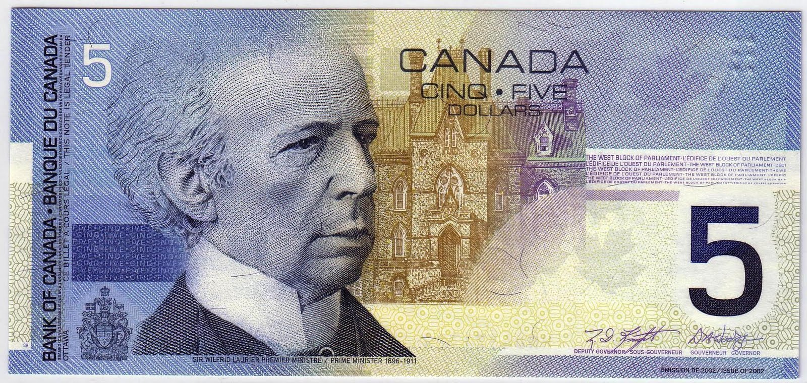 world banknotes  canada journey series mismatched serial