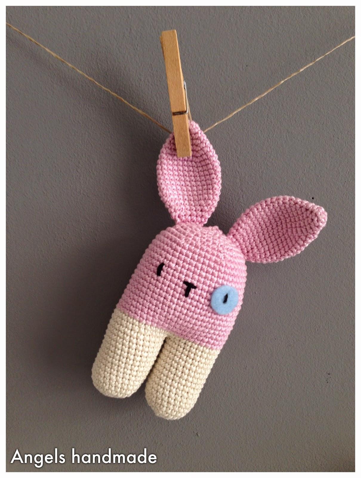 Angels Handmade Schattige Bunny Rammelaar En Meer