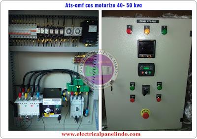 JUAL PANEL ATS AMF 40-50 KVA / PANEL OTOMATIS GENSET