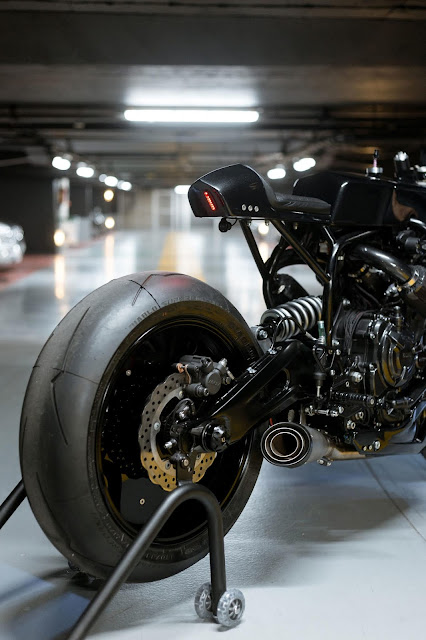 Yamaha XSR700 By Le French Atelier Hell Kustom