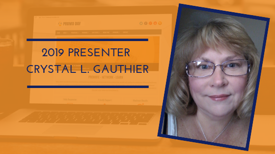 Introducing Promo Day 2019 Presenter Crystal L. Gauthier
