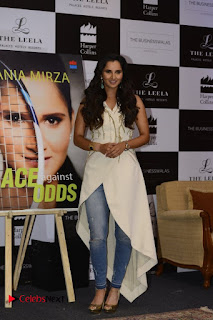 Sania Mirza Pictures in Jeans at Ace Against Odds Book Launch 0025