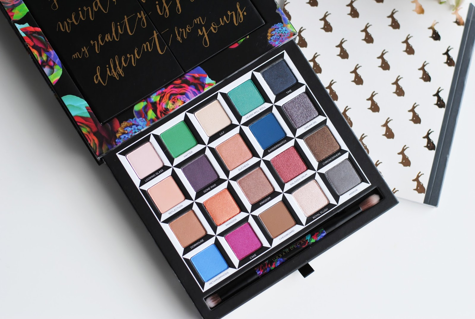 urban decay alice through the looking glass review