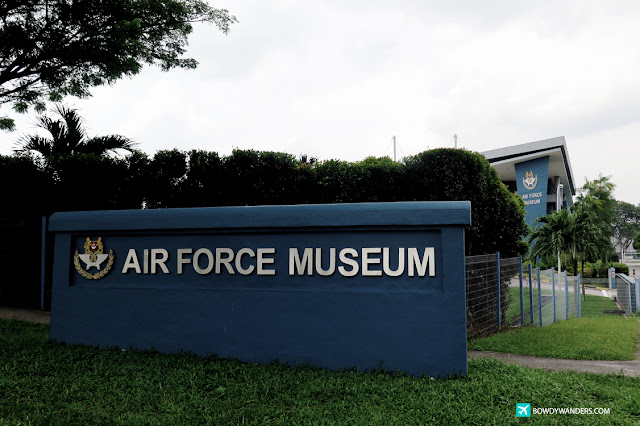bowdywanders.com Singapore Travel Blog Philippines Photo :: Singapore :: Singapore's Air Force Museum: Feel Free To Explore This With High Interest
