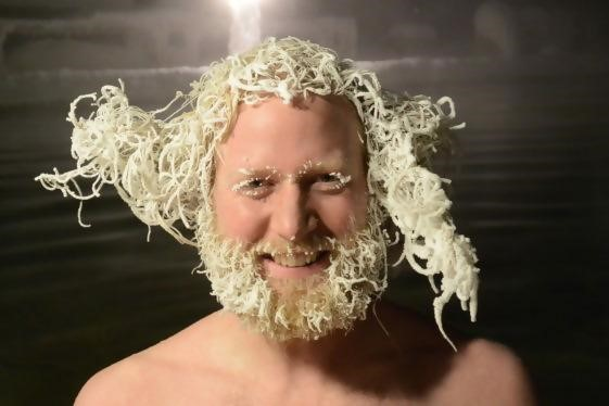 Canadians Have Hair Freezing Contests To Celebrate The Extremely Low Temperatures