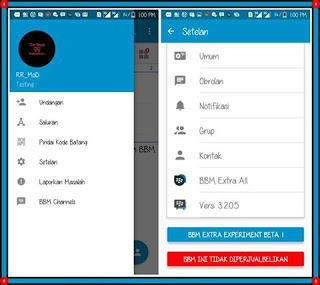 Download MULTI BBM Experiment Beta v3.2.0.5 APK