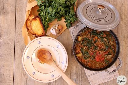 """""""Zuppa de lenticchie"""" - soupe de lentilles à l'italienne"""