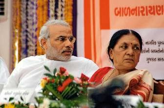 anandiben patel and narendra modi relationship