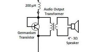 Amateur Radio : Compact Loudspeaker Crystal Radio