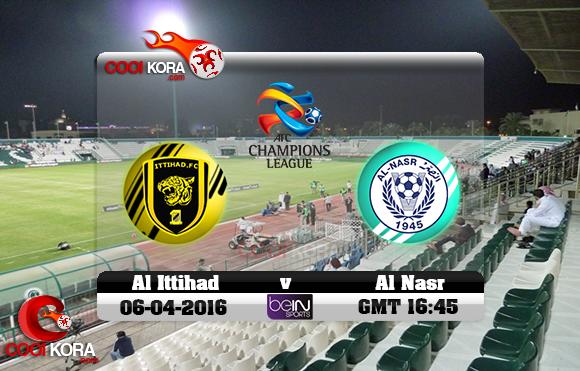 مشاهدة مباراة النصر الإماراتي والاتحاد السعودي اليوم 6-4-2016 في دوري أبطال آسيا
