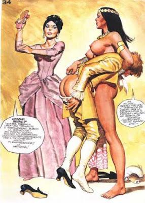 riis spanking art