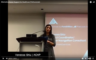 Vanessa Shiu speaking about ACAP
