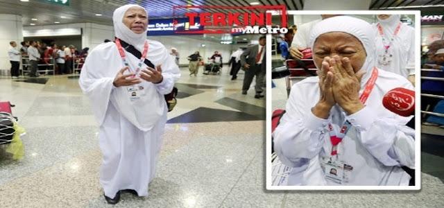 Subhanallah doa jemaah haji 5 tahun lumpuh, akhirnya dikabulkan allah dapat berjalan semula di madinah..