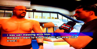 WWF Smackdown: Just Bring It (PS2) Michael Cole & Steve Austin