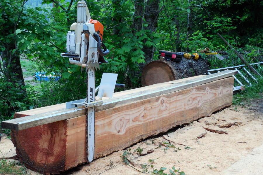 Alaskan Saw Mill Guide Rails