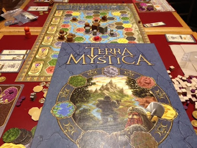 Terra Mystica board game by Z-Man Games