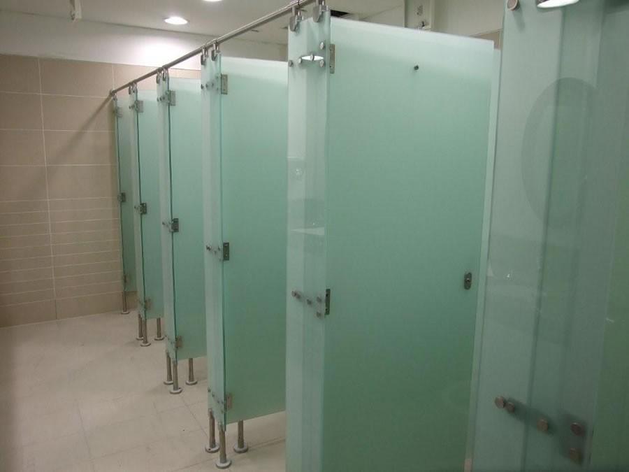 Harga Cubical Toilet Kaca Partisi Kaca Kamar Mandi
