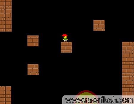 Se você já conhece ou Jogue I Wanna Be the Guy, este jogo é no mesmo estilo. É um jogo de plataforma como o clássico Mario, mas com uma pitada de morte em cada pixel do jogo. Cuidado, pois literalmente QUALQUER coisa pode te matar. Furious Adventure 2.