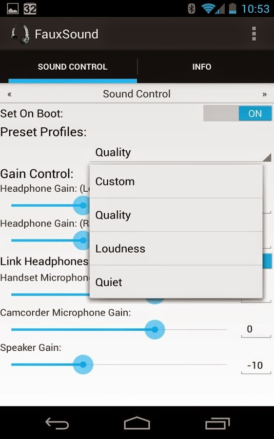 Apps Get: FauxSound AudioSound Control v1 2 3 Full Apk Free Download