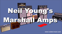 Neil Young Marshall Amps 1989