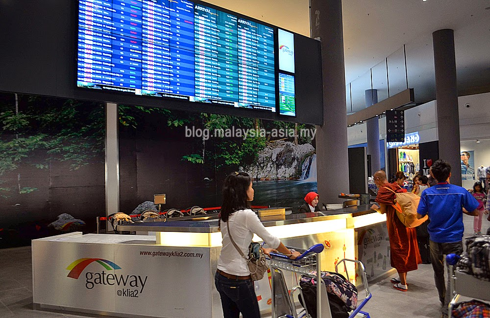 information counter at klia2