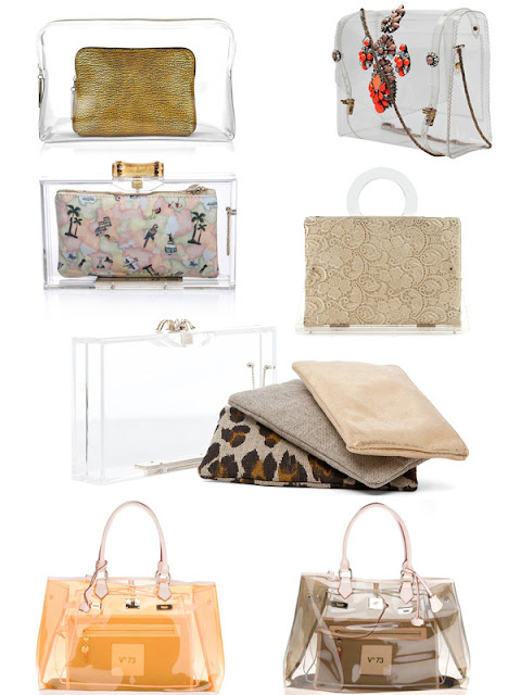 Spring Trend 2013 - Transparency - Clutches