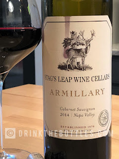 2014 Stag's Leap Wine Cellars Armillary Cabernet Sauvignon label