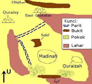 Kisah Perang Khandaq Nabi Muhammad yang Penuh Hikmah