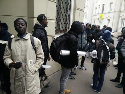 Nigerian students in Russia protest over 12 months unpaid stipends