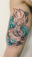 tatuaje DBZ 2018