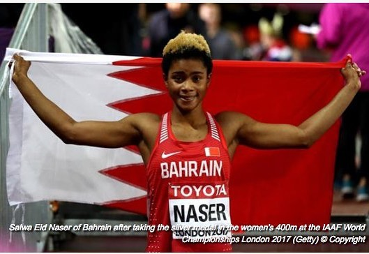 I'm glad I dumped Nigeria for Bahrain, says Naser after winning medal in London