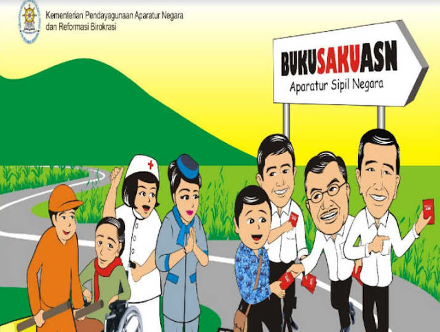 Download Buku Panduan ASN (Aparatur Sipil Negara)