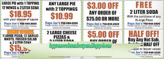 Free Printable Papa Joes Pizza Coupons
