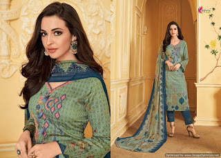 Kesari trendz Manufacture Alisa vol 7 Cotton Suits buy wholesale price At Diwan fashion Surat.