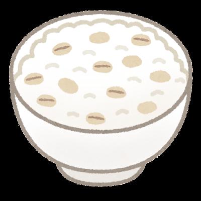 麦飯のイラスト