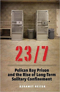 Book cover for 23/7: Pelican Bay Prison and the Rise of Long-Term Solitary Confinement