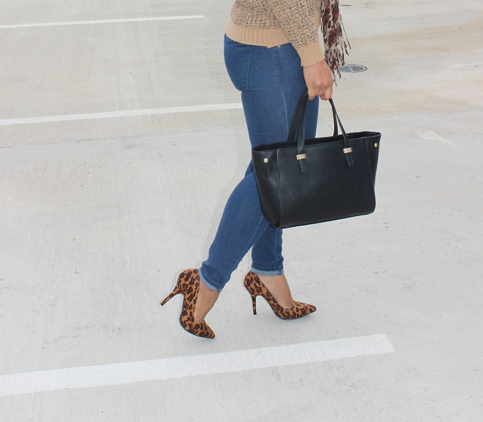 leopard, forever21, leopard heels, chic look, blogger, fashion, how to style leopard