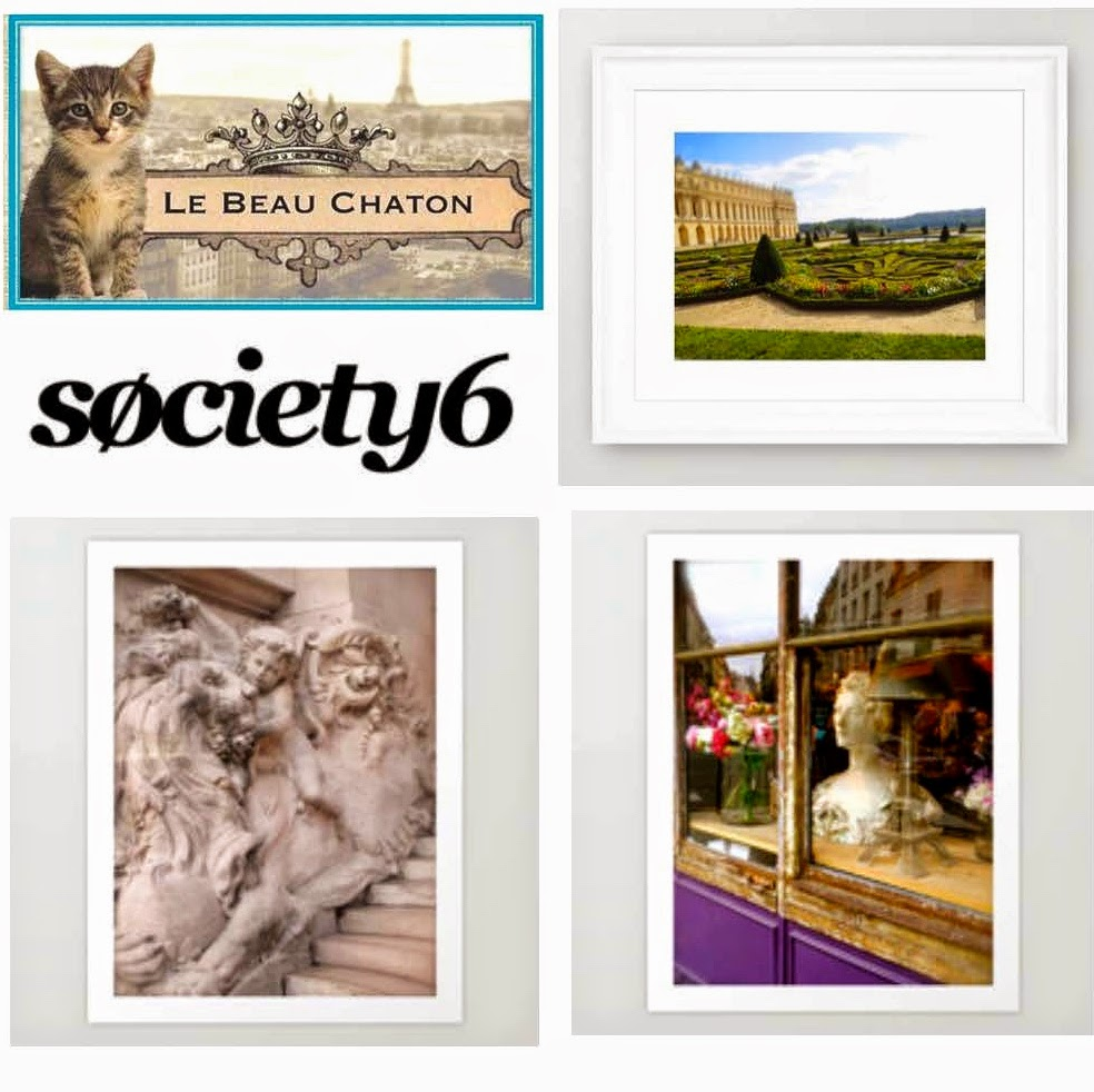 Le Beau Chaton is now at Society6