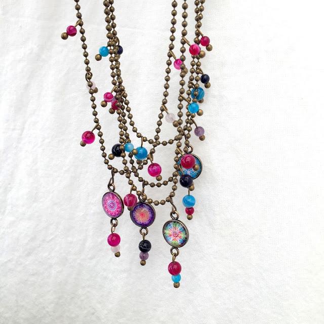Mandala Jewelry, Healing Jewelry, Gypsy Jewelry by Um Mundo Novo