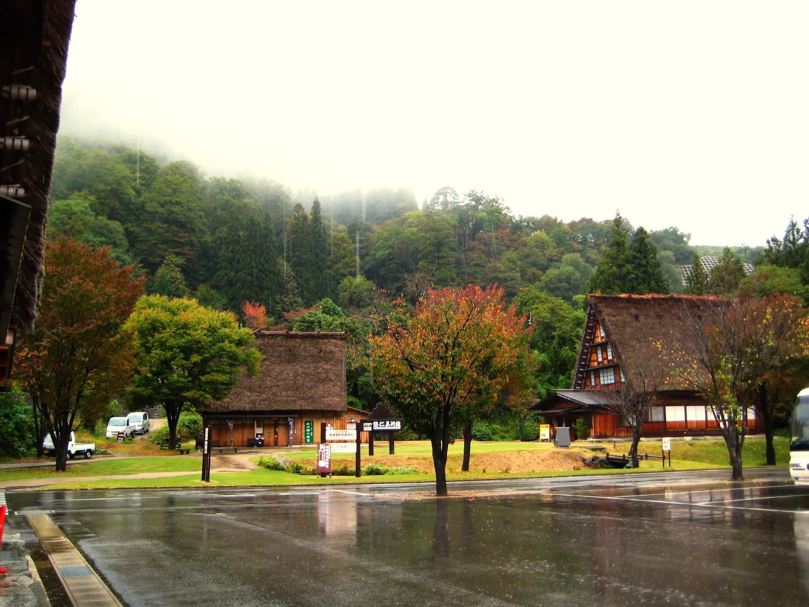 Happy Tours: 日本中部自由行2013-立山黑部(Day 4-白川鄉)