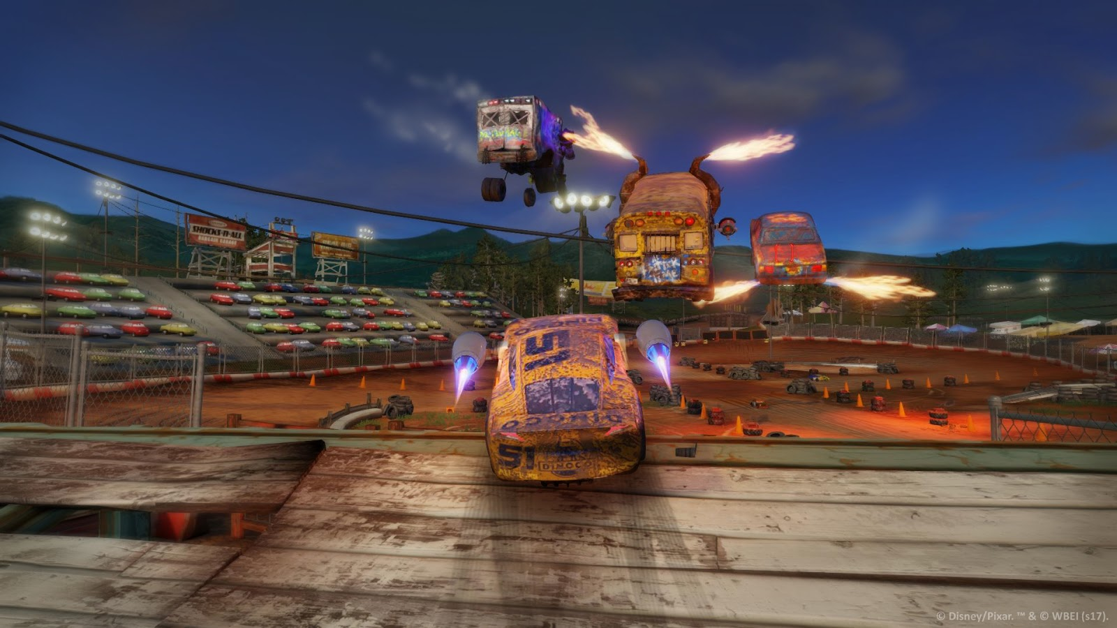 cars 3 game warner